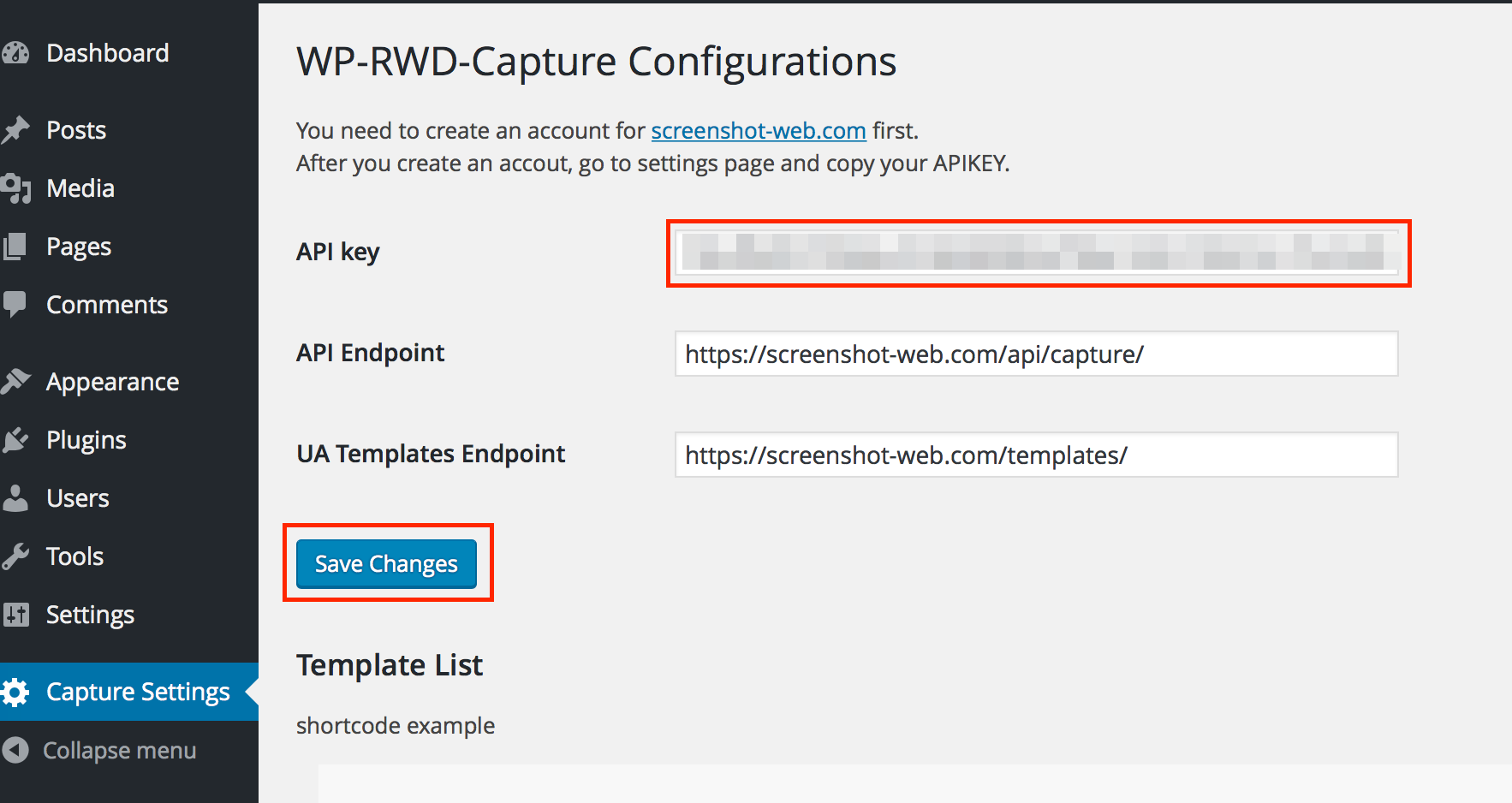 Wp Responsive Web Design Capture Wordpress Plugin Screenshot Web